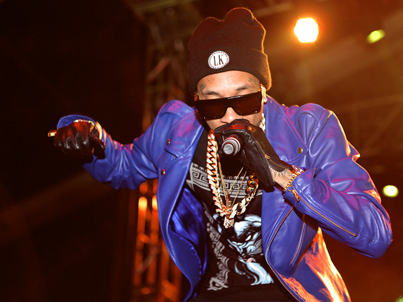 Tyga, an American rapper from California, headlines at Heat March 3, 2013.