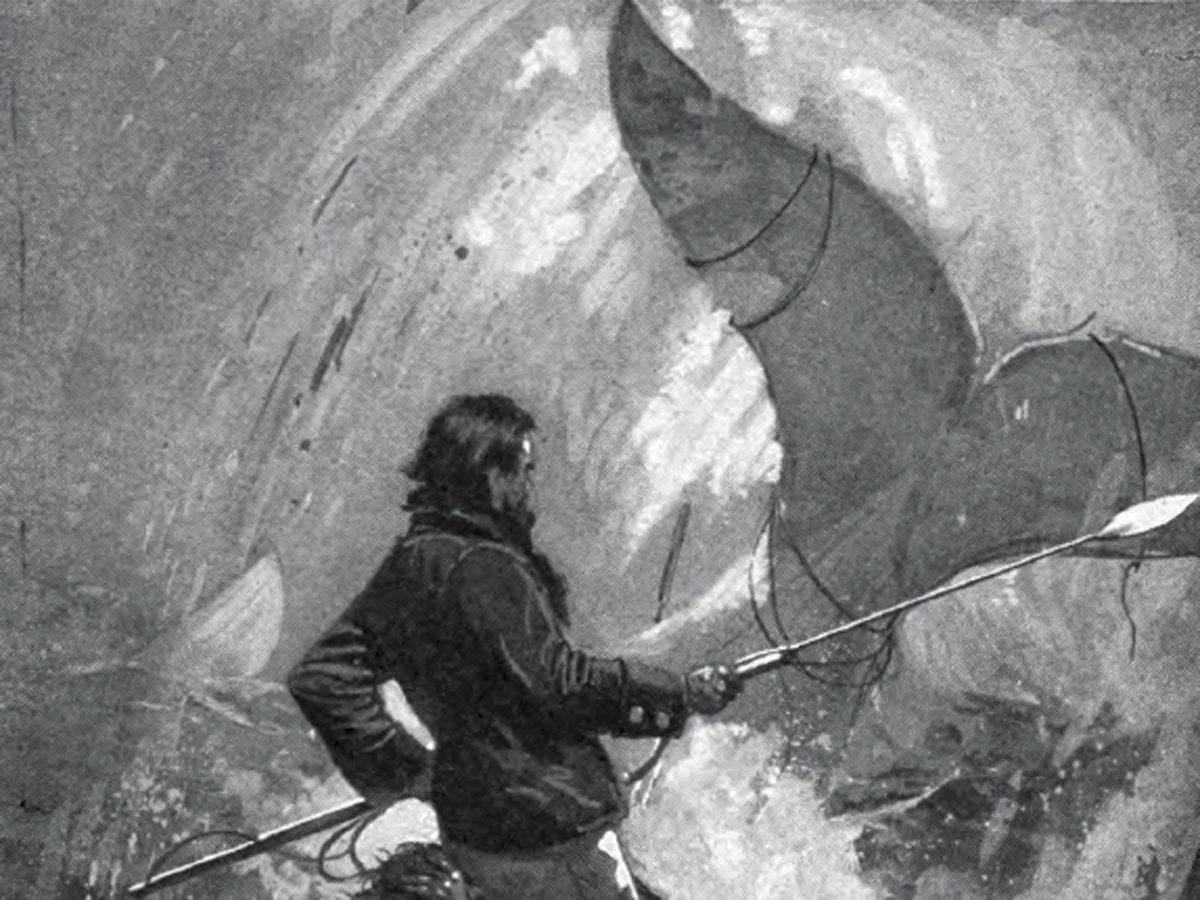 Captain ahab of moby dick