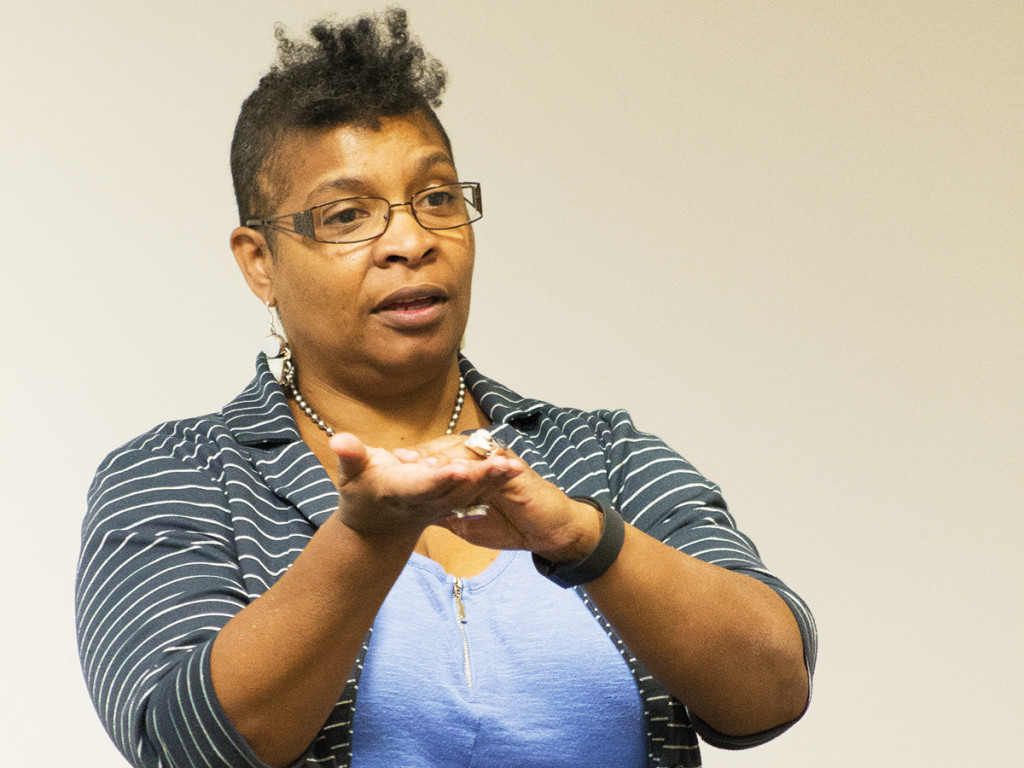 Nalo Hopkinson, science fiction/fantasy author, discusses the making of her graphic novel-in-progress, Nancy Jack.