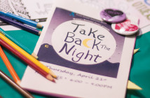 """Take Back the Night"" is an event to help end sexual and domestic violence. Take Back the Night - Bri Chew/HIGHLANDER"