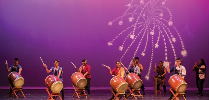 """Drums like thunder: Senryu Taiko presents """"Four Noble Drums"""""""