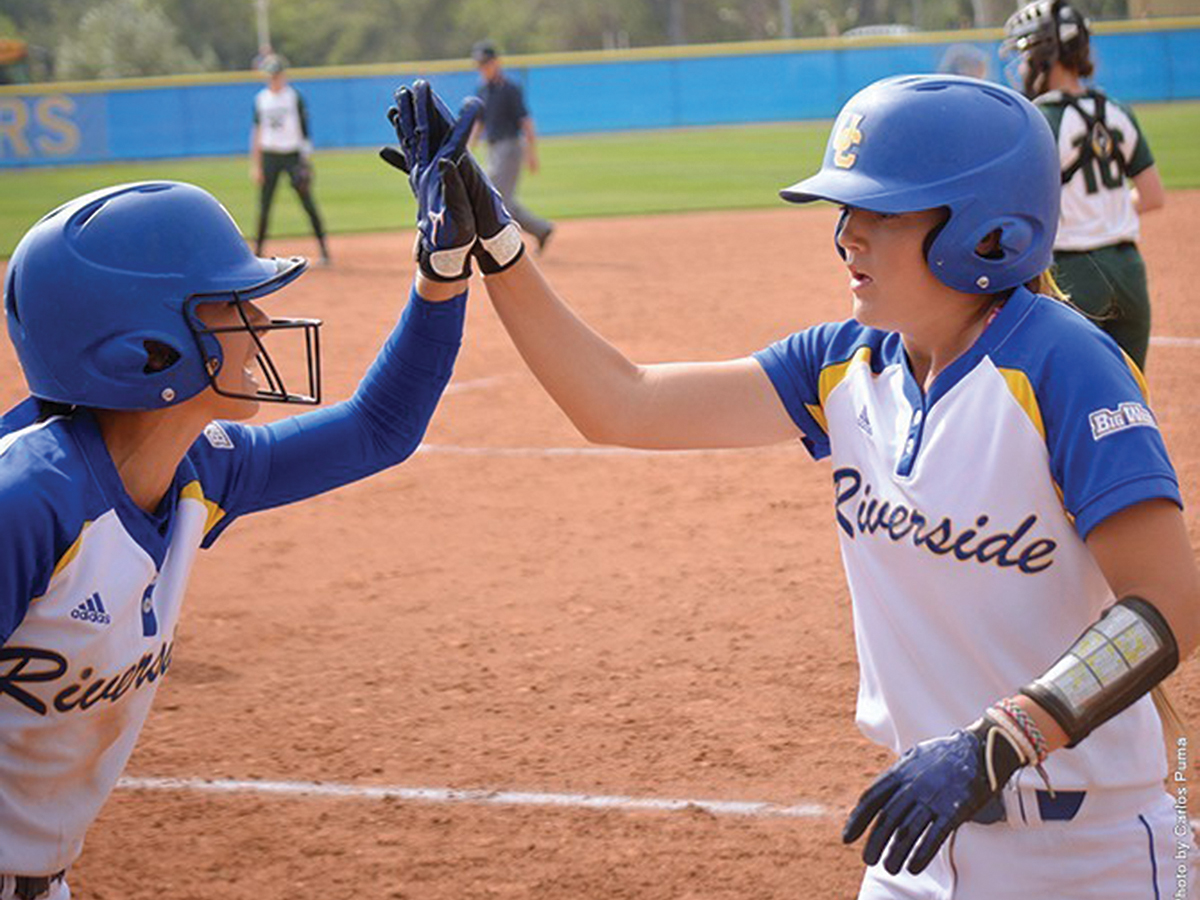 UCR softball: Looking back and moving ahead - Highlander