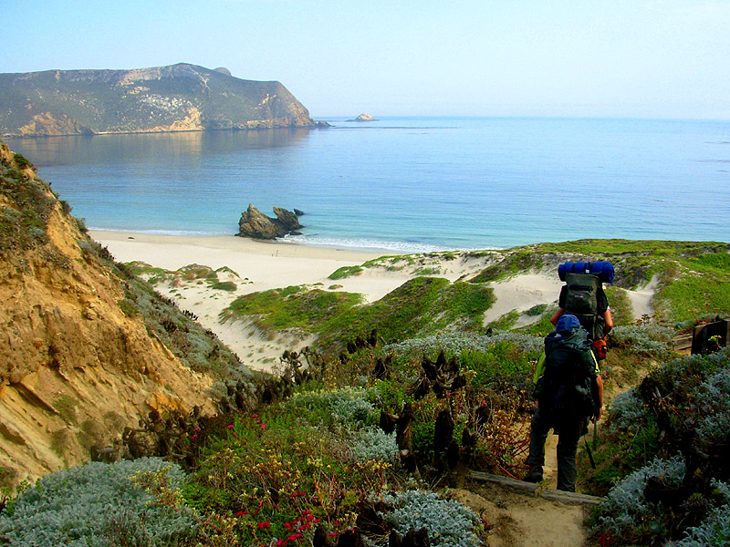 A beach in San Miguel Island, Channel Islands Courtesy of Wikipedia