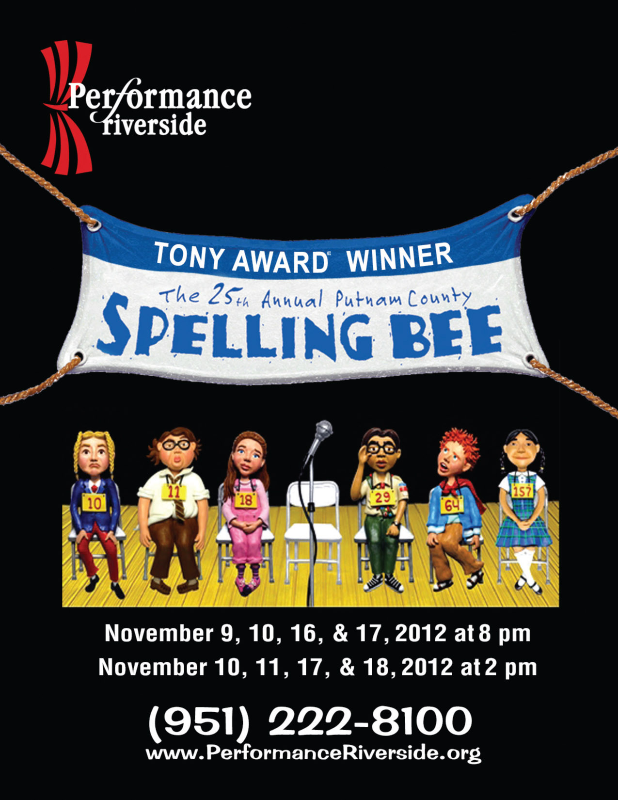 "The 25th Annual Putnam County Spelling Bee"" At Performance"