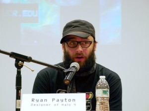 video game designer Ryan Payton is sharing his experience about this industry