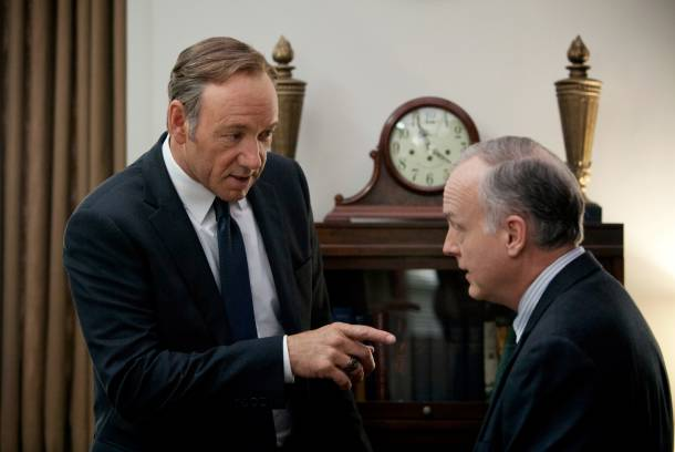 "Kevin Spacey as Frank Underwood in ""House of Cards"""