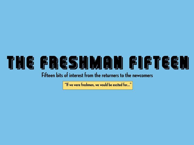 Freshman Fifteen - Graphic by Olivia Bocanegra