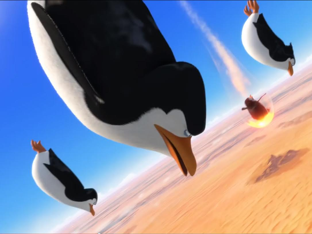 "Penguins are the best in ""Penguins of Madagascar"" - Highlander"