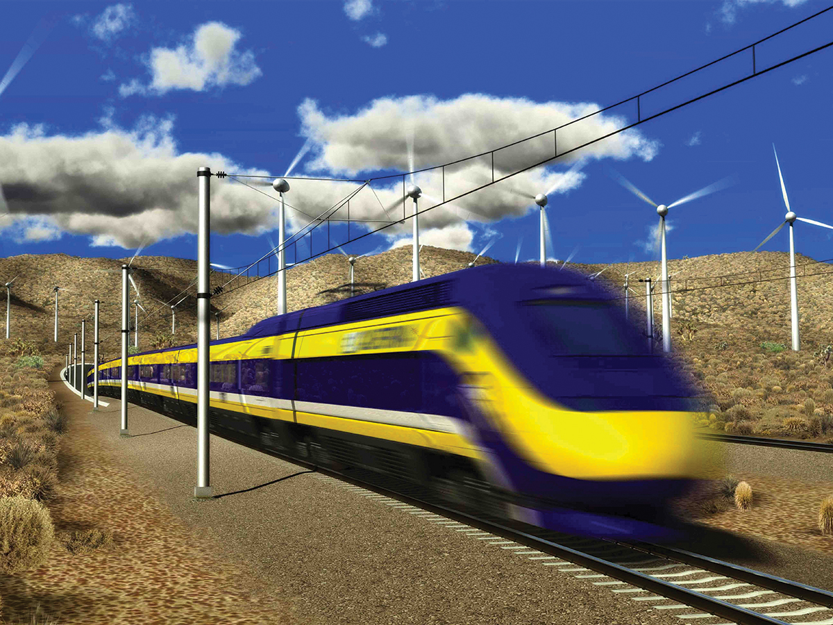 Courtesy of California High Speed Rail Authority