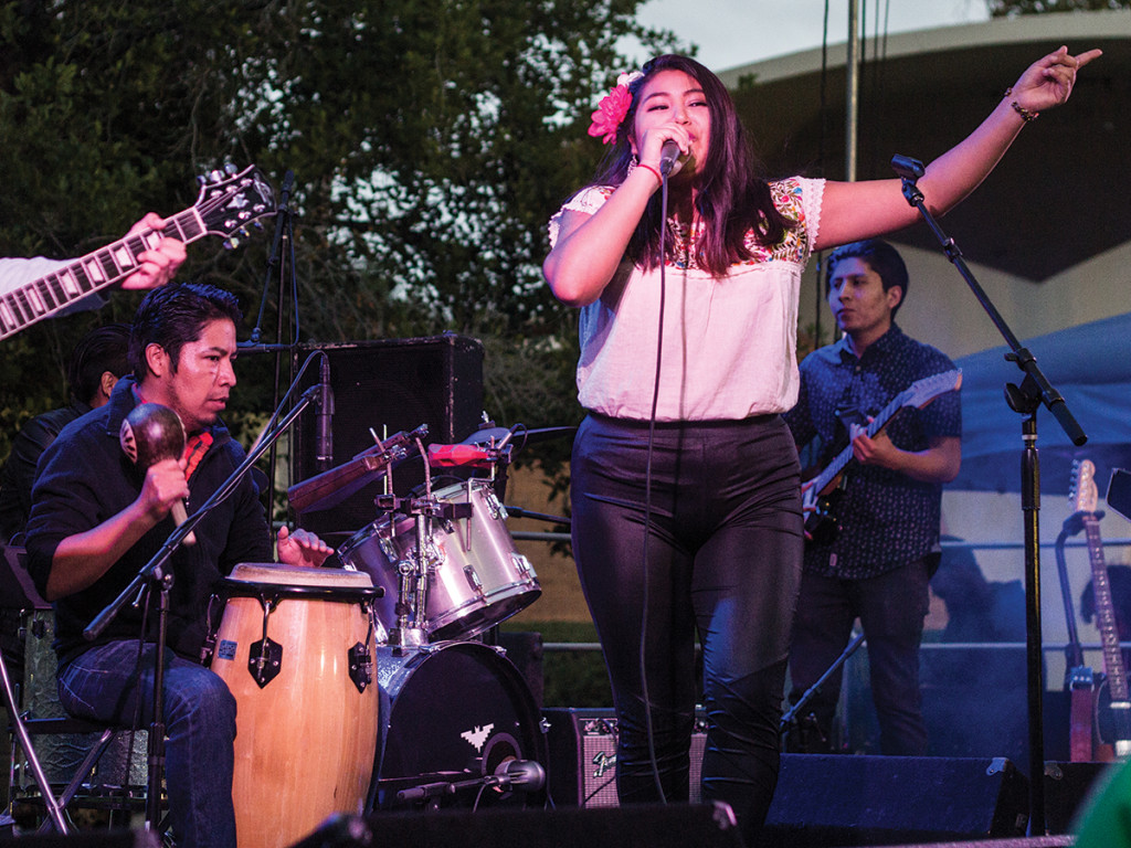 Chicano Batman regaled UCR students and faculty with culturally focused music. Joie Gatapia/HIGHLANDER