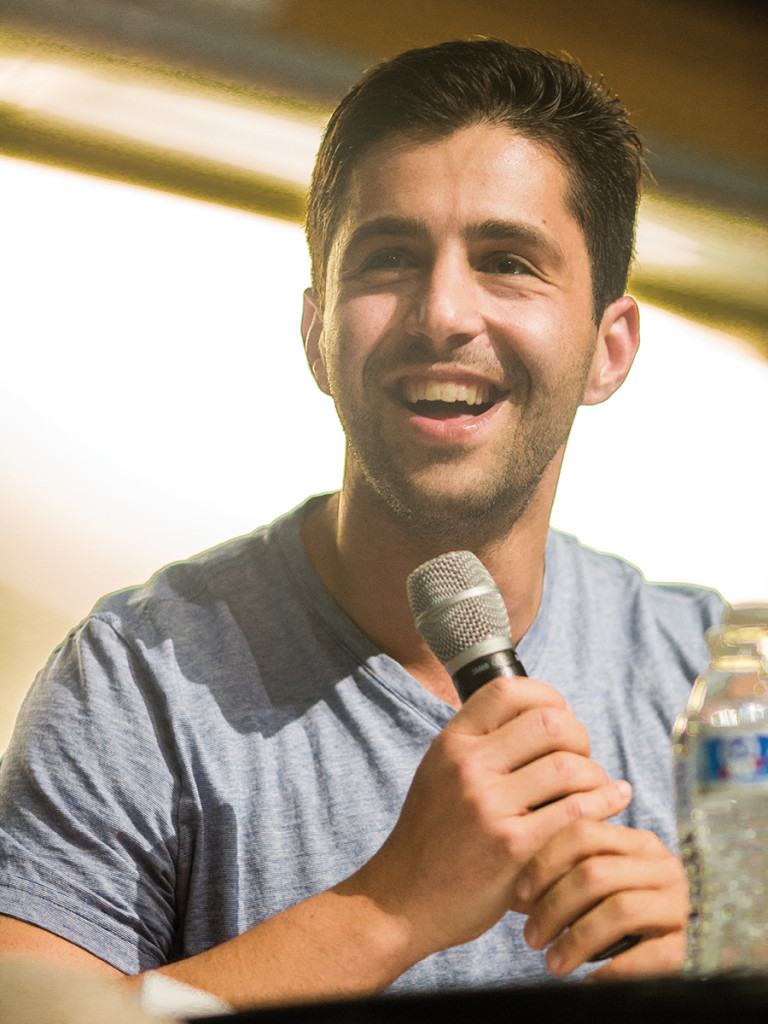 Bri Chew/HIGHLANDER Josh Peck talked about his roles in his latest TV show.