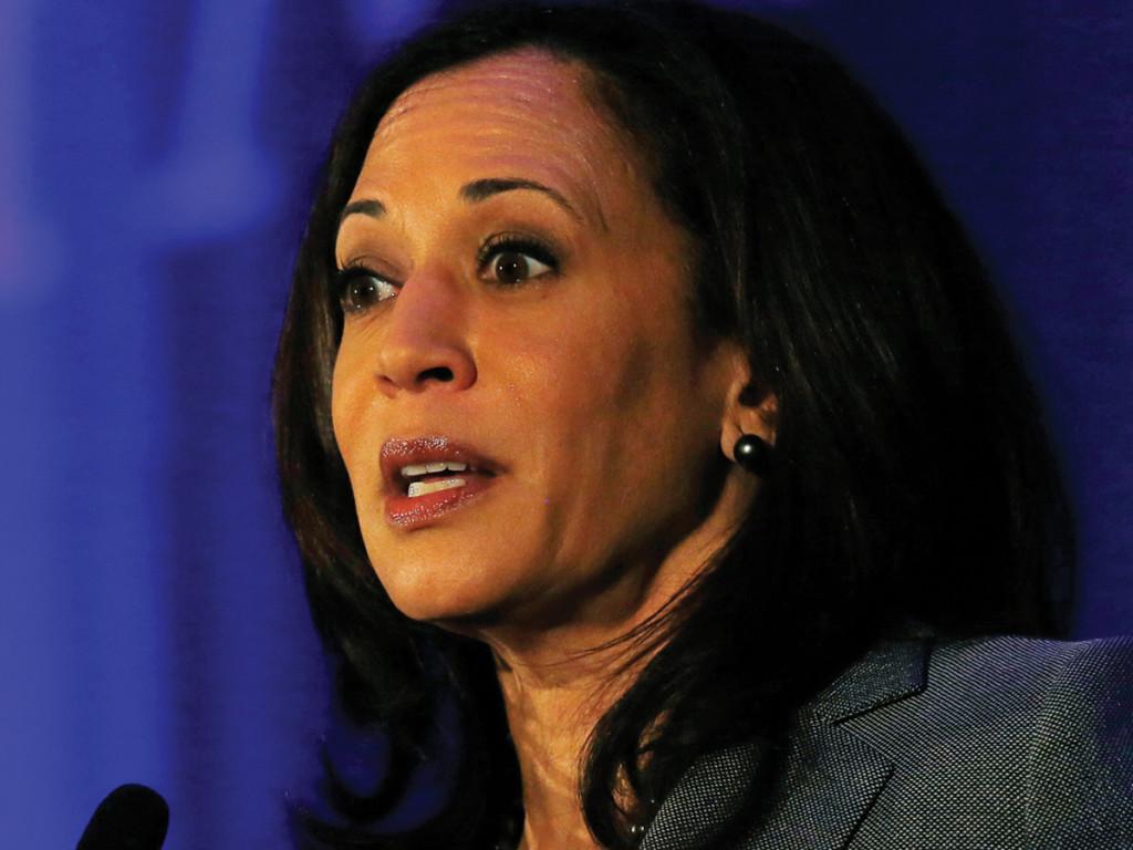 California Attorney General Kamala Harris   Courtesy of Pitzer College