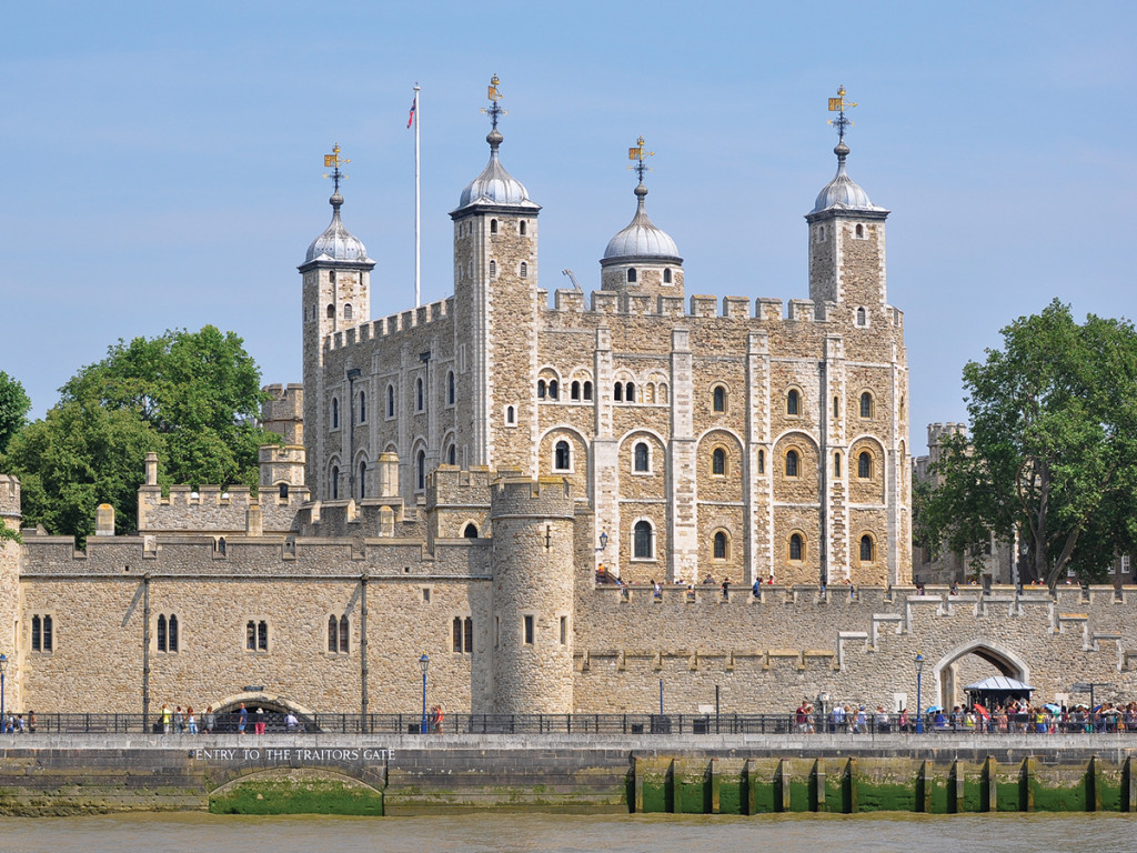 Tower of London Courtesy of Wikimedia Commons
